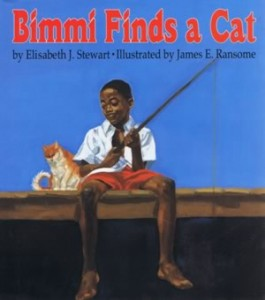 Bimmi finds a cat