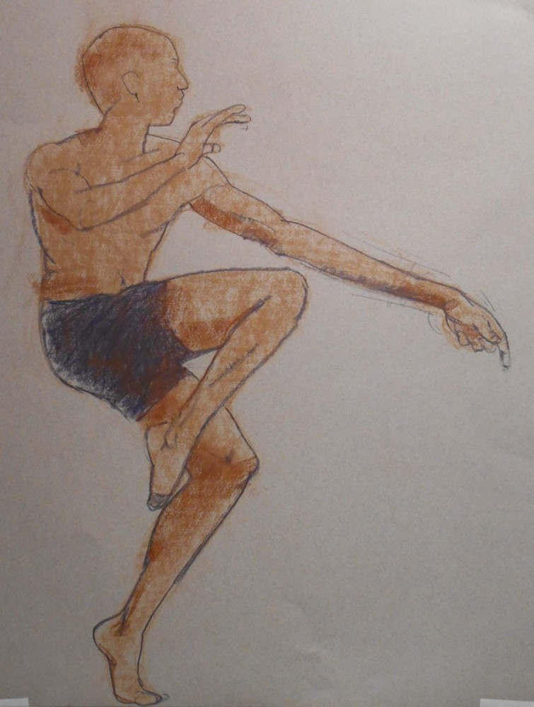 Dancer drawing2